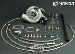 MAMBA GTX TD05H-18G 8cm Bolt-On Turbo KIT Top Mount FOR Nissan TD42 GQ 3 Hsg