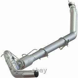 MBRP 4 Turbo Back Single Side Exhaust For 1994-2002 Dodge 2500 3500