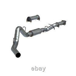 MBRP S6000P 4 Cat-Back Exhaust Kit For 2001-2005 GM 6.6L Duramax