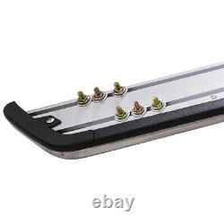 Pair Stainless Steel Side Steps Bars Running Boards kit for Audi Q5 2008-2014