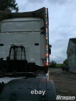 Perimeter Kit + LEDs For Scania P G R 6 Series Topline 2009+ Stainless Strips