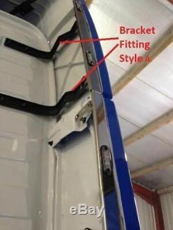 Perimeter Kit + LEDs For Volvo FH4 Globetrotter 2013+ Stainless Vertical Strips