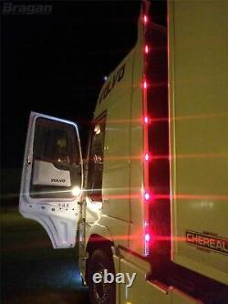 Perimeter Kit + Multi Function LEDs For DAF XF 106 Super Space 2013+ Stainless