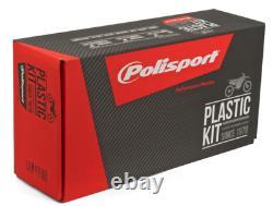 Polisport Flo Yellow Plastic Kit For Honda CRF 450 R 2017-2018, 250 2018 90742