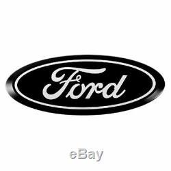 Putco 92200 Ford Licensed Emblem Kit Black Bolt-on for 2009-2014 Ford F150