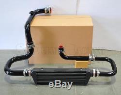 RDT Black Intercooler Piping S/RS Flange Coupler kit for 92-00 Honda Civic EG EK