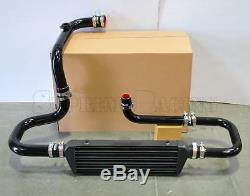 RDT Black Intercooler Piping S/RS Flange Couplers kit for 1994-2001 Integra DC2