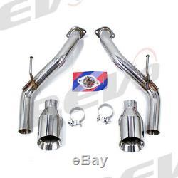 REV9 FLOWMAXX CAT-BACK STAINLESS STEEL EXHAUST FULL KIT For Q50 V6 3.0L V37