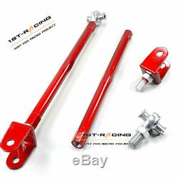 Red Adjustable Rear Lower Control Arms Camber Kit For Audi TT 1.8T/A3 S3Quattro