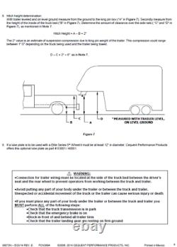 Reese Elite Base Rail Kit for 99-10 Ford F250 F350 F450 Under-Bed Bolt On