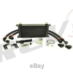Rev9 19-Row Oil Cooler Kit For Impreza WRX 2006-07 DIRECT BOLT-ON Kit Racing