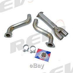Rev9 2.3 To 3 Titanium Y Pipes Kit For 03-08 Nissan 350z Vq35 Z33 V35 Bolt On