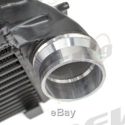 Rev9 Black Front Mount Intercooler Kit Bolt On For BMW 6-Series F06/F12/F13