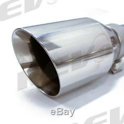 Rev9 FlowMAXX Bolt-On Cat-Back Stainless Steel Exhaust Kit For Q50 V6 3.0L V37