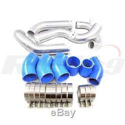 Rev9 For Audi A4 02-05 1.8t Turbo Front Mount Intercooler Kit Upgrade (bolt-on)