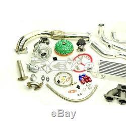 Rev9 For CIVIC Crx B16 B18 B-series Dohc T3t4 Full Complete Bolt On Turbo Kit