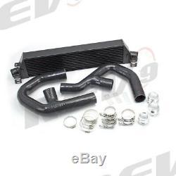 Rev9 Front Mount Intercooler Kit Fmic For Black 06-09 Vw Golf Gti 2.0t Bolt On