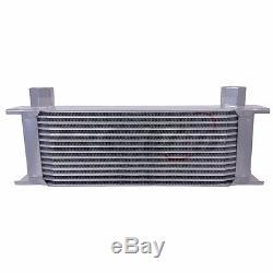Rev9 Oil Cooler Kit 2.0t Upgrade 14 Row Bolt On For 08-12 Vw Ea888 Gti 2.0t Mk6