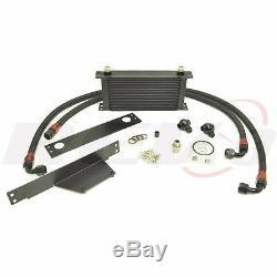 Rev9 Upgrade 19 Row Engine Oil Cooler Kit For 02-05 Wrx Sti Ej25 Ej20 Bolt On
