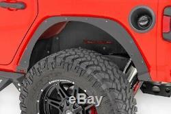 Rough Country 10539 Steel Bolt-On Fender Delete Kit for 2018-Up Jeep Wrangler JL
