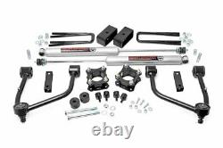Rough Country 3.5in For Toyota Bolt-On Lift Kit withN3 Shocks 07-20 Tundra 2WD/4WD