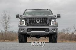 Rough Country 3in Bolt-On Lift Kit Lifted Struts For Nissan 04-15 Titan 2WD/4WD