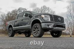Rough Country 3in Bolt-On Lift Kit Strut Spacers For Nissan 04-21 Titan 2WD/4WD