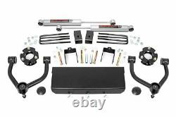 Rough Country 3in For Nissan Bolt-On Lift Kit 16-21 Titan XD 2WD/4WD