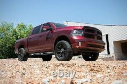 Rough Country Dodge for RAM 1500 3 Bolt-On Lift Kit with Control Arms 12-18 4wd