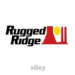 Rugged Ridge RRC Rocker Guard Kit for 18-19 Jeep Wrangler JLU 4 Door 11504.36