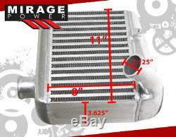 Side Mount Intercooler For 1990 1991 1992 1993 1994 1995 1996 Nissan 300ZX Z32
