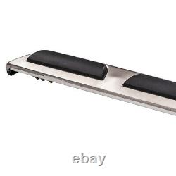 Stainless Steel Running Boards Side Steps Bars for Audi Q5 08-14 left+right