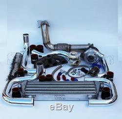 T3/T4 TurboCharger Intercooler BOV Bolt-On Kit for 92-00 Civic B-Series 014-CBR