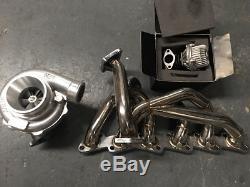 Td06-25g Turbo + Manifold/wastegate Bolt-on Kit For Skyline Gtst R32 R33 R34