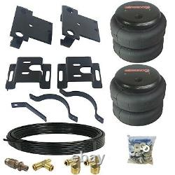 Tow Assist Over Load No Drill Air Bag Suspension Kit For 01-10 Chevy 3500 Truck