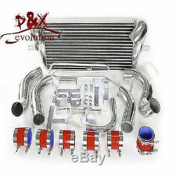 Turbo Bolt On Front Mount Intercooler Kit For Mazda RX7 RX-7 FD3S FD3 93-97 Red