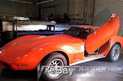 Vertical Doors Inc Bolt On Lambo Door Kits for Chevrolet Corvette C-3 1968-1982