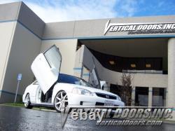 Vertical Doors Vertical Lambo Door Kit For Honda Civic 1996-00 -VDCHC9600